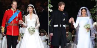 королевские свадьбы принца Уильяма и Кейт Миддлтон, принца Гарри и Меган Маркл