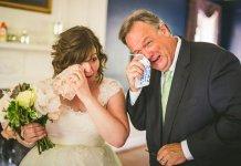 фото отцов на свадьбах дочерей