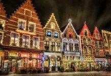 Европа на Рождество