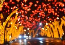 Новогоднее оформление и украшение городских площадей