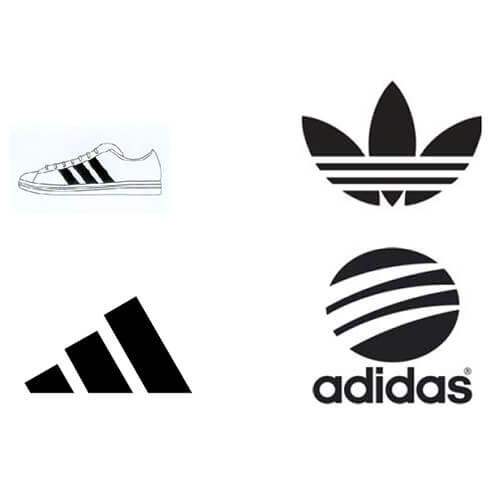 известные логотипы, adidas